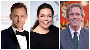 Tom Hiddlestone, Olivia Colman and Hugh Laurie are all hoping for success.