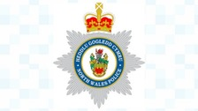 North Wales Police badge