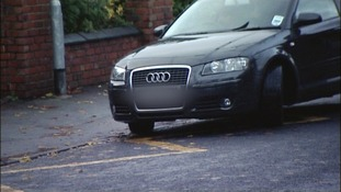 Examples of parking outside Wolverhampton schools today