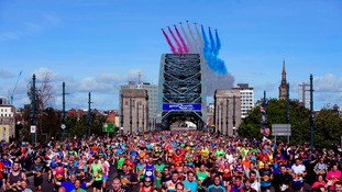 Secure a place in Great North Run 2017
