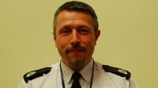 Cumbria's new Temporary Assistant Chief Constable Sean Robinson