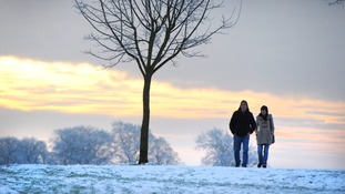 Snow at Roundhay Park, Leeds