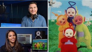 David Walliams and Rochelle Humes 'thrilled' to join new series of Teletubbies