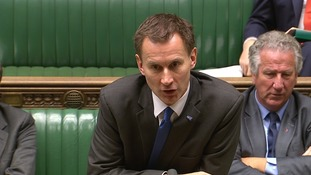 Jeremy Hunt warned people could be 'frightened' by exaggerated talk