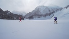 Sir Ranulph Fiennes on a previous expedition.