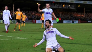 Alex Mowatt won the game for Leeds.