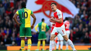 Norwich City could face Arsenal in round four.