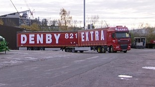The vehicle is 25.25 metres long, and only two people at Denby are qualified to drive it