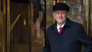 Jeremy Corbyn has called for a cap on pay for highest earners.