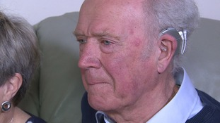 'You're never too old to hear again' Grandfather's cochlea implant success