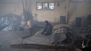 Thousands are living in abandoned buidings in Belgrade