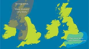 20% chance of snow in London area as temperatures fall