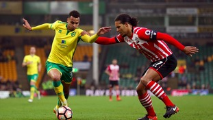 Many fans chose to stay away from Carrow Road.