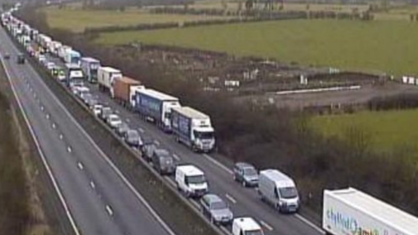 ROADS: A14 - EASTBOUND - CATTHORPE