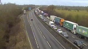 ROADS: A14 - WESTBOUND - WELFORD - NORTHAMPTONSHIRE