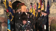 Veterans honour Norfolk soldier facing pauper's funeral