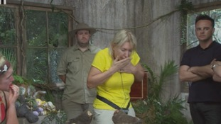 I'm A Celebrity: Nadine Dorries eats a portion of a camel's toe