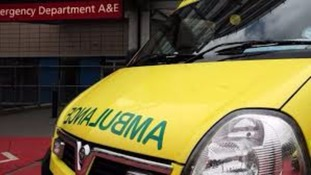 Elderly woman suffers head injury after collision