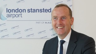 Stansted CEO Andrew Cowan said Ryanair had added 1.5 million passengers in 2016 and British Airways had started flying from the airport.