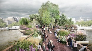 Worst case scenario revealed for London's Garden Bridge