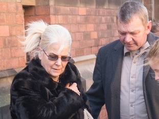 The victim's grandparents attended the court hearing