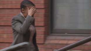 Michaela Pyke arriving at court