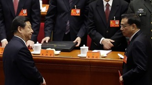 China's Vice President Xi Jinping and China's Vice-Premier Li Keqiang