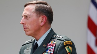Gen. David Petraeus pictured in 2016