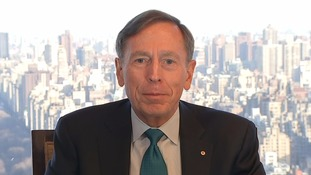 Donald Trump will be 'the disruptor in chief' president, David Petraeus says