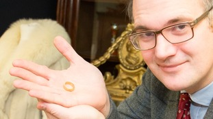 Auctioneers say the ring is a rare find