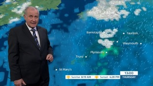 Bob Crampton with the weather.