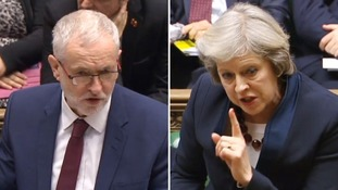 Labour leader Jeremy Corbyn challenged the PM over the state of the NHS.