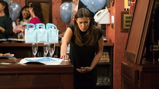Corrie's Michelle Connor went into labour at 23 weeks.