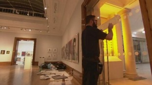 Finishing touches are made to Hull's Ferens Art Gallery