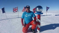 Rob Smith reaches South Pole
