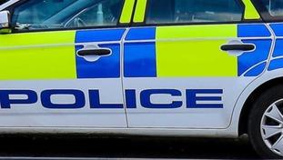 Police car stock shot