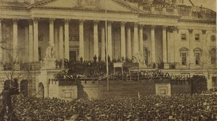Rare Abraham Lincoln inauguration photo to be unveiled