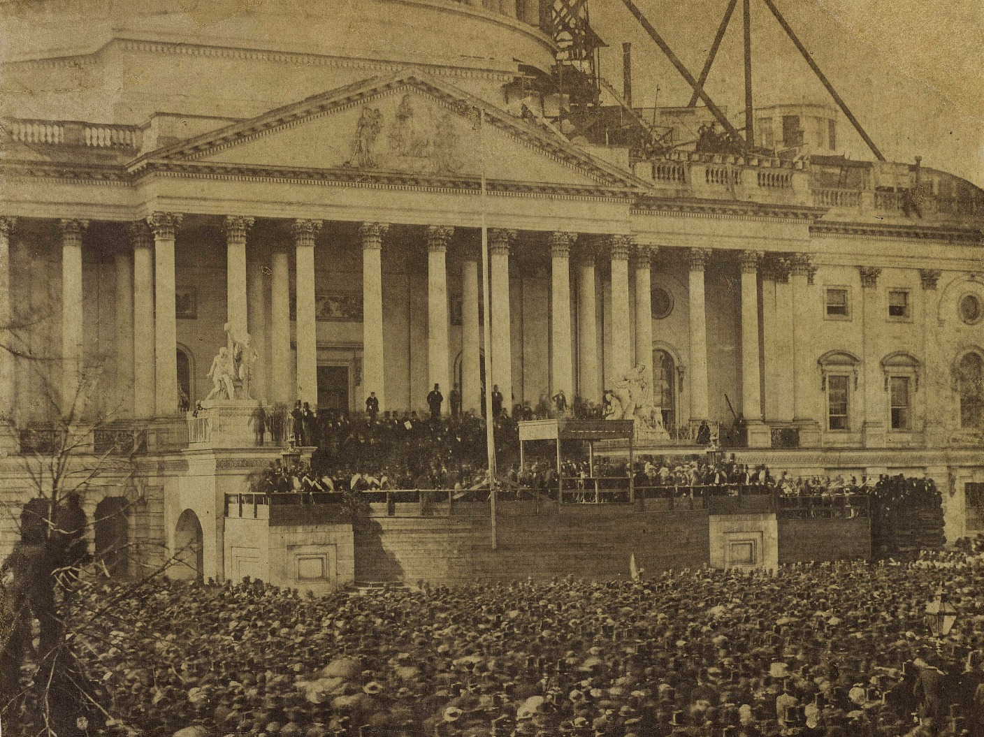 Rare abraham lincoln inauguration photo to be unveiled for First president to be inaugurated on january 20