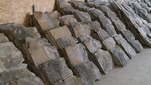 Production of Collyweston slate had to cease when the frost need to create it became unreliable.
