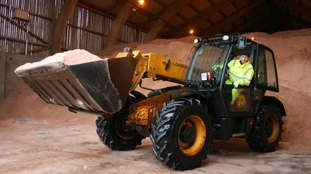 5000 tonnes of salt at the ready for snow on M6 toll