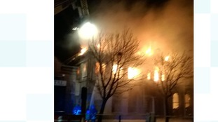 Crews deal with major fire at Barrow pub