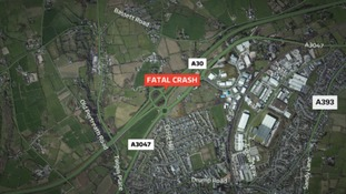Woman dies in collision with tractor in Cornwall