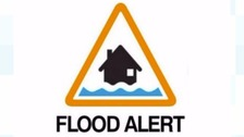 A flood warning has been issued for the North Sea Coast