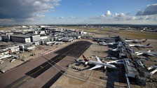 A general view of Heathrow Airport