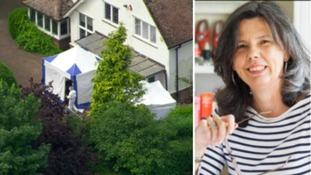 Helen Bailey and her brother John Bailey joked about the cesspit at her Royston home.