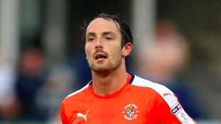 Danny Hylton is staying at Luton Town.