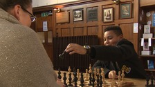 Sick of losing yet, Mum? Chess fanatic, 12, could make England squad