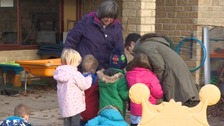 The children at Cirencester Opportunities Group - one of the groups who benefit.