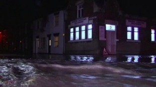 Fears of tidal surge flooding in North Yorkshire