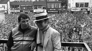 Sir Elton John leads tributes to former England boss and Watford manager Graham Taylor